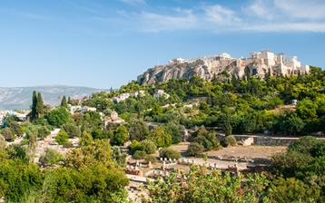 Een dag in Athene