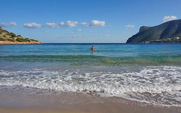 Stranden van Porto Rafti